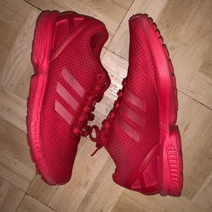 adidas Shoes - Adidas Flux zx triple Red- Size 7Y/ Men 7/ WMS 8.5